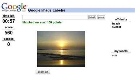 Google Image Labeler
