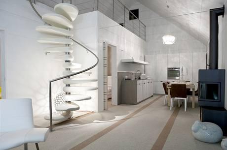 Do kuchyně byl použit praktický systém Pessina cucine