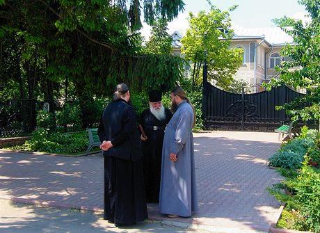 Ukrajina,Oděsa. Debata popů