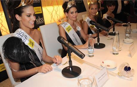 Miss ČR 2009 Aneta Vignerová a její rozbité žezlo