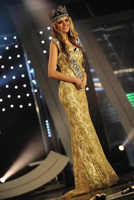 Úřadující Miss World Ksenija Suchinovová
