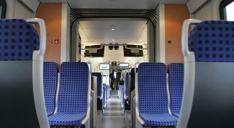 Vlak Deziro od společnosti Siemens.