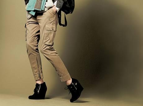 Kalhoty na letošní zimu