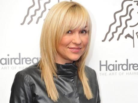 Kateřina Hrachovcová-Herčíková a její nové blond vlasy