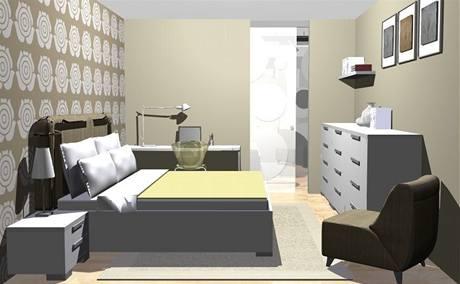 Proměna bytu pro mladé manžele ve vanilce, bílé a kovu