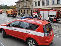 Výbuch plynu na Vídeňské ulici v Brně