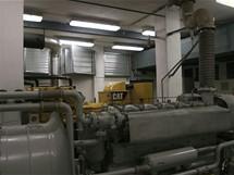 Buková hora - záložní agregáty pro případ výpadku proudu