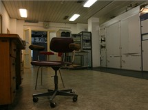 Buková hora - původní kontrolní pracoviště, kde obsluha kontrolovala, zda se opravdu vysílá a diváci tedy mají obraz