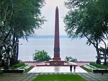 Ukrajina,Oděsa. Památník padlých