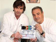 Martin Zounar (vpravo) byl u seriálu od samého začátku