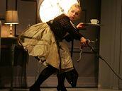 z divadelního představení Maškaráda v Klicperově divadle v Hradci Králové