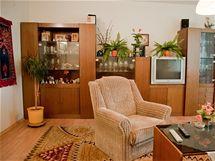 Původní obývací pokoj byl zařízen před 26 lety