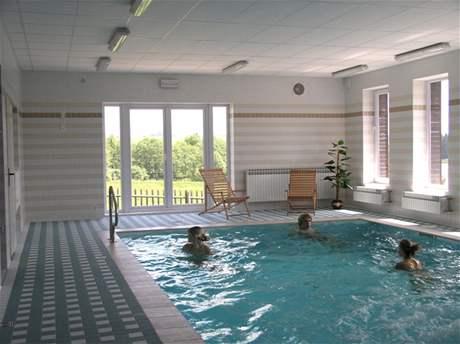 Bazén - Hotel Skalský dvůr