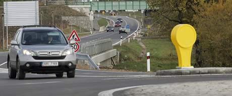 Průjezd Sokolnicemi na Brněnsku je díky novému kruhovému objezdu bezpečnější
