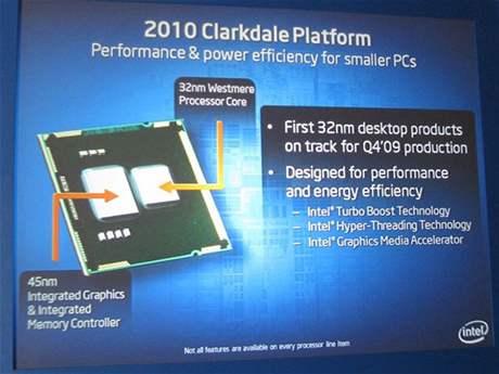 Intel Core s integrovaným grafickým jádrem