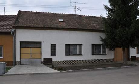 Dům, kde došlo v Blatnici ke vraždě dvou dětí