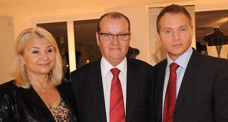 Pražský radní Milan Richter s rodiči