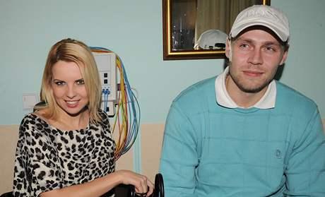 Kateřina Kristelová s partnerem