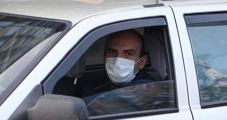 Epidemie prasečí chřipky na Ukrajině, ve městě Lvov. (6. listopadu 2009)