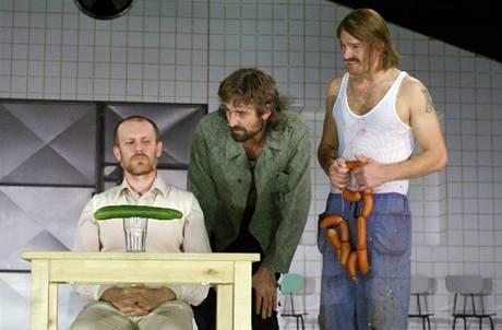 Divadlo Komedie: Hosté. Martin Finger, Roman Zach, Stanislav Majer