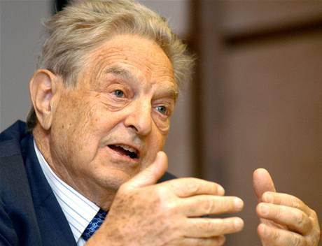 George Soros, předseda představenstva společnosti Soros Fund Management a institutu Open Society
