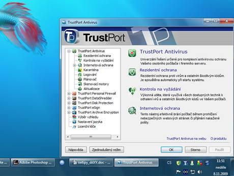 TrustPort Antivirus a PC Security