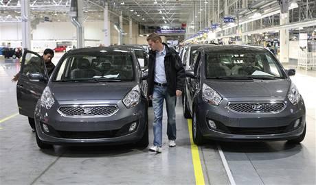 Kia Venga odstartovala sériovou výrobu v automobilce Hyundai v Nošovicích na Frýdecko-Místecku