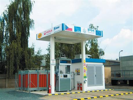 Vodíková čerpací stanice v Neratovicích