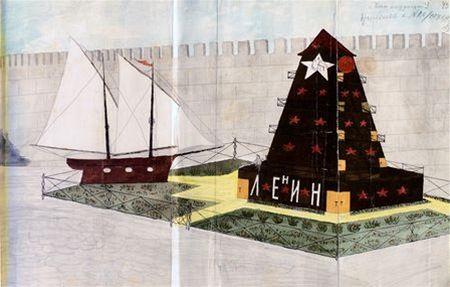 Některé návrhy na Leninovo mauzoleum byly opravdu šílené.