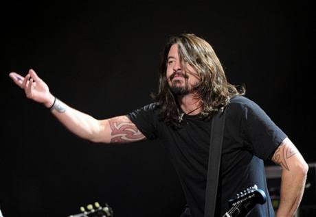 Berlín, show k udílení evropských cen MTV 2009 (Dave Grohl, Foo Fighters)