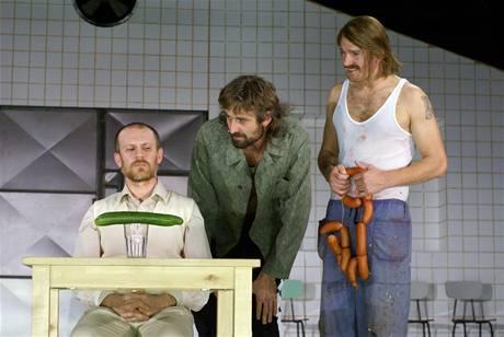 z divadelního představení Hosté
