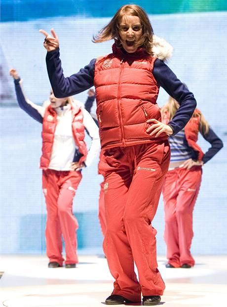 Představení oblečení českých olympioniků pro Vancouver 2010