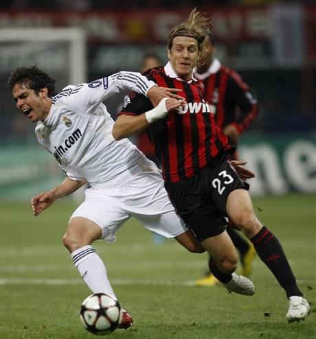 AC Milán - Real Madrid: Kaká a Ambrosini