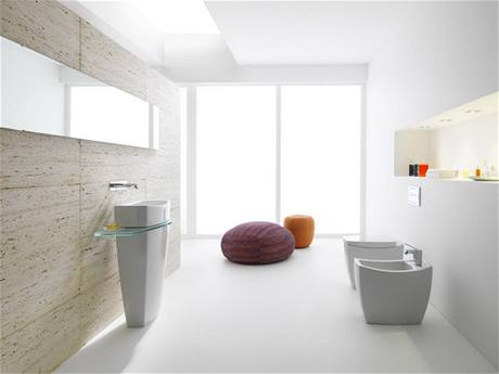 Tvary sanit�rn� keramiky se �asto nech�vaj� inspirovat p��rodou