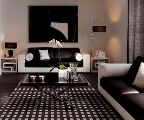 Dlažba dokáže imitovat dřevo stejně jako koberec