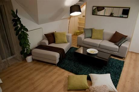 Pohodlná sedačka má snímatelný a pratelný potah