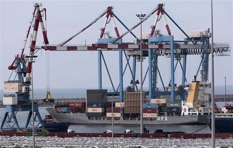 Loď Francop převážela tisíce zbraní zřejmě z Íránu do Sýrie (4. listopadu 2009)