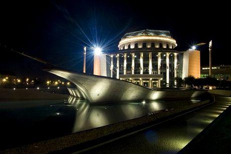 Maďarsko, Budapešť - Národní divadlo