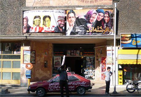 Írán. I na filmových plakátech musejí být hrdinky způsobně zahalené