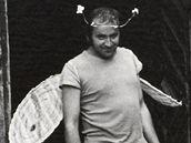 Fotografie Heleny Wilsonové: Jiří Mrázek, Elbančice, 1974