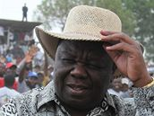 Morgan Tsvangirai (8. listopadu 2009)