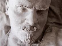 Posmrtn� maska V.I. Lenina