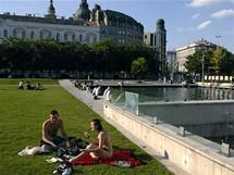 Maďarsko, Budapešť - Alžbětino náměstí