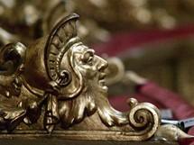 Maďarsko, Budapešť, budova opery - detail