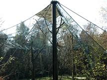 Bavorský les, přírodní park kousek od dřevěné stezky v korunách stromů