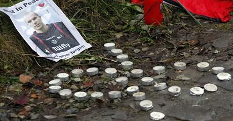 Svíčky ve tvaru 96: Robert Enke zemřel
