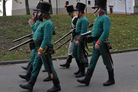 V Bzenci se konaly svatomartinské oslavy a bitva armár tří císařů.