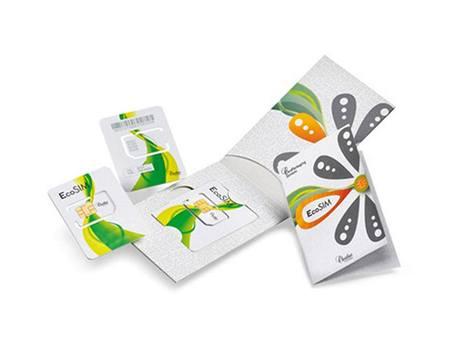 Ekologická SIM karta od firmy Oberthur Technologies