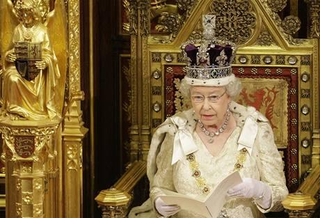 Projev královny v britském parlamentu (18.11.2009)