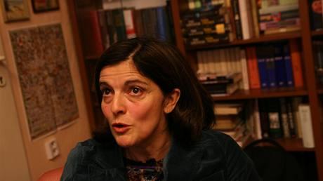 Francouzská historička a socioložka Francoise Mayerová